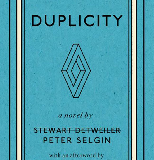 Peter Selgin, Duplicity, Serving House Books